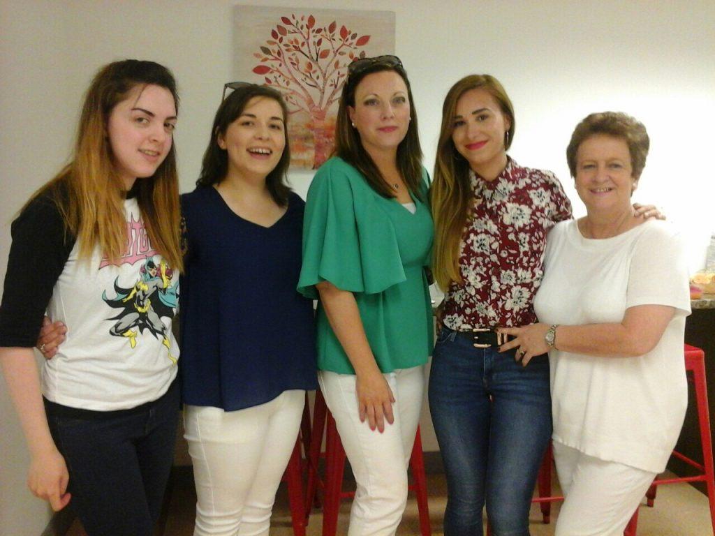 Naíonra's Niamh, Sarah, Yvonne, Clara and Ber